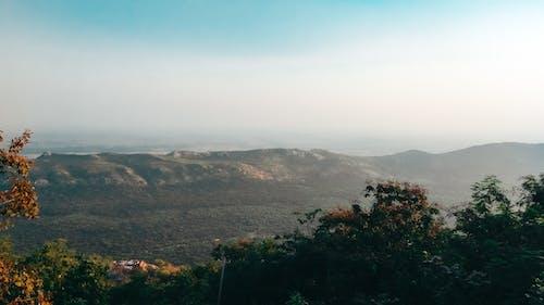 Foto profissional grátis de chandan suman, fotografia com drone, montanha, Montanhas Azuis