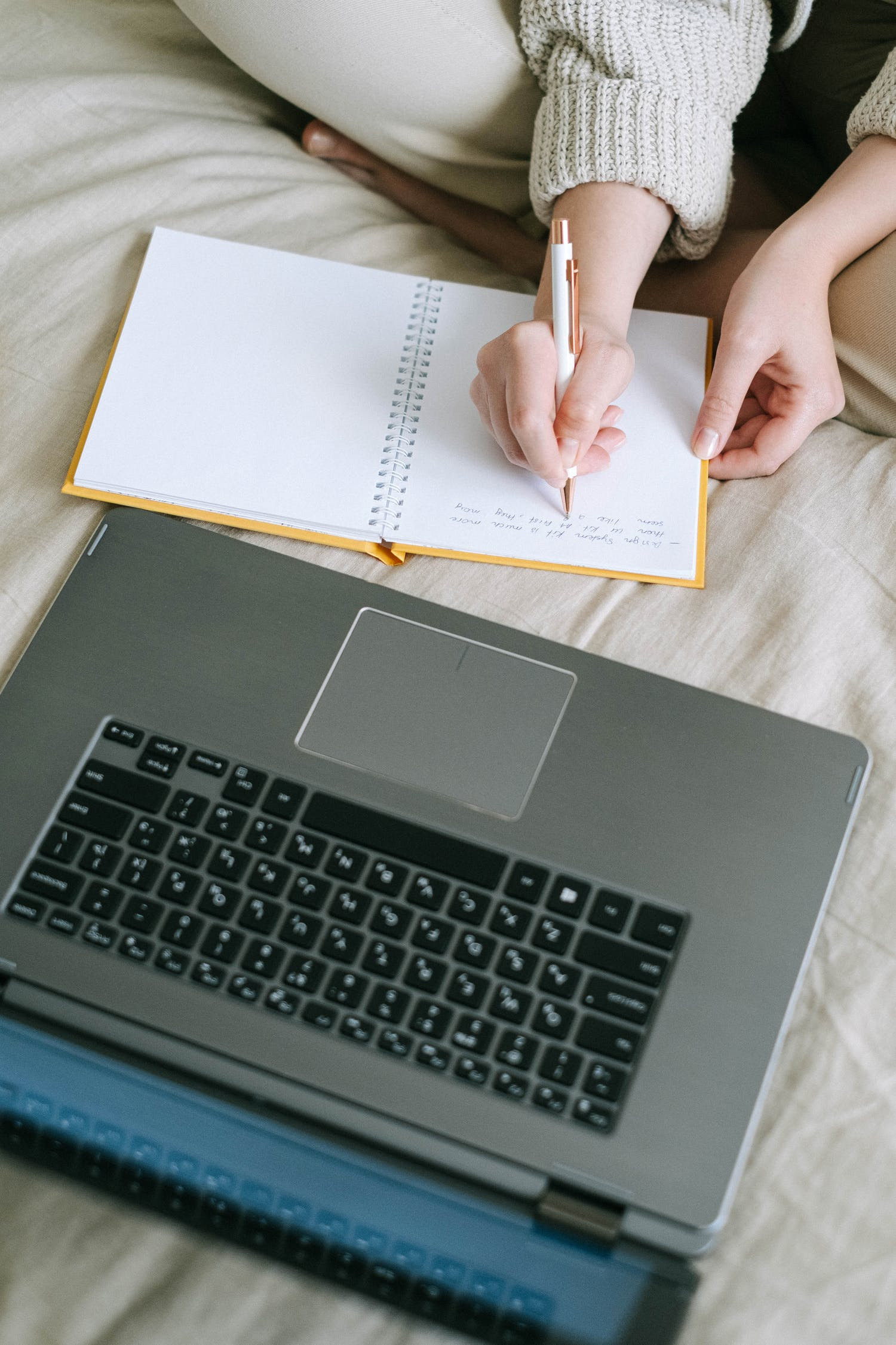 Person Holding Black and Gray Laptop Computer