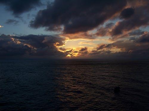 Free stock photo of carribean, ocean, st. martin, sunset