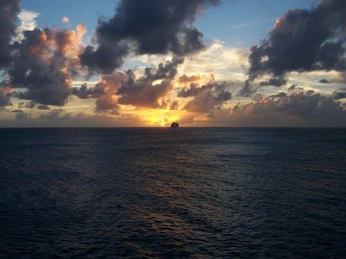 Free stock photo of clouds, dramatic, horizon, ocean