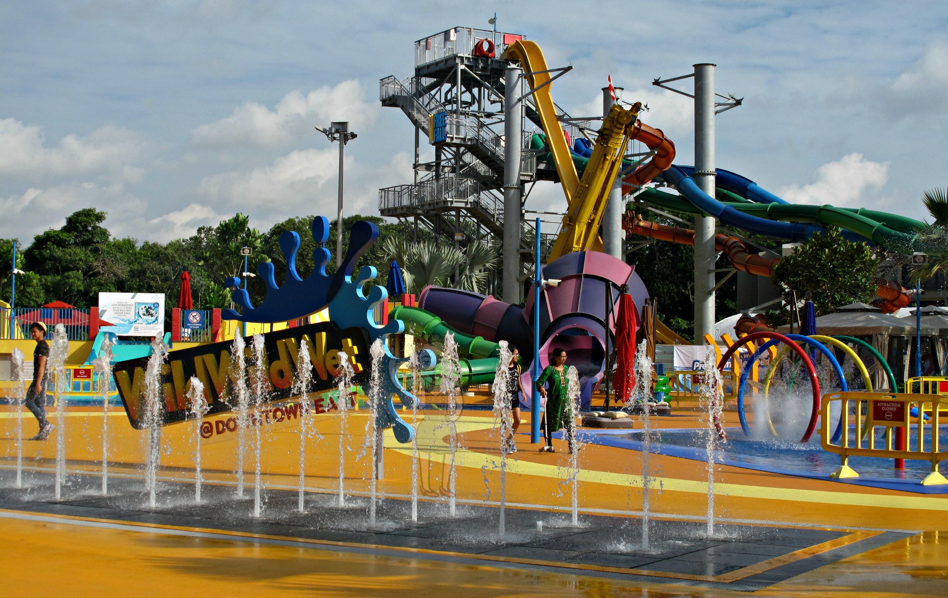 Free Stock Photo Of Singapore Theme Park Water Park