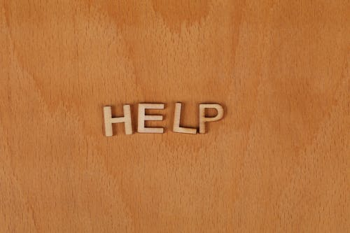 Free stock photo of help, wooden background