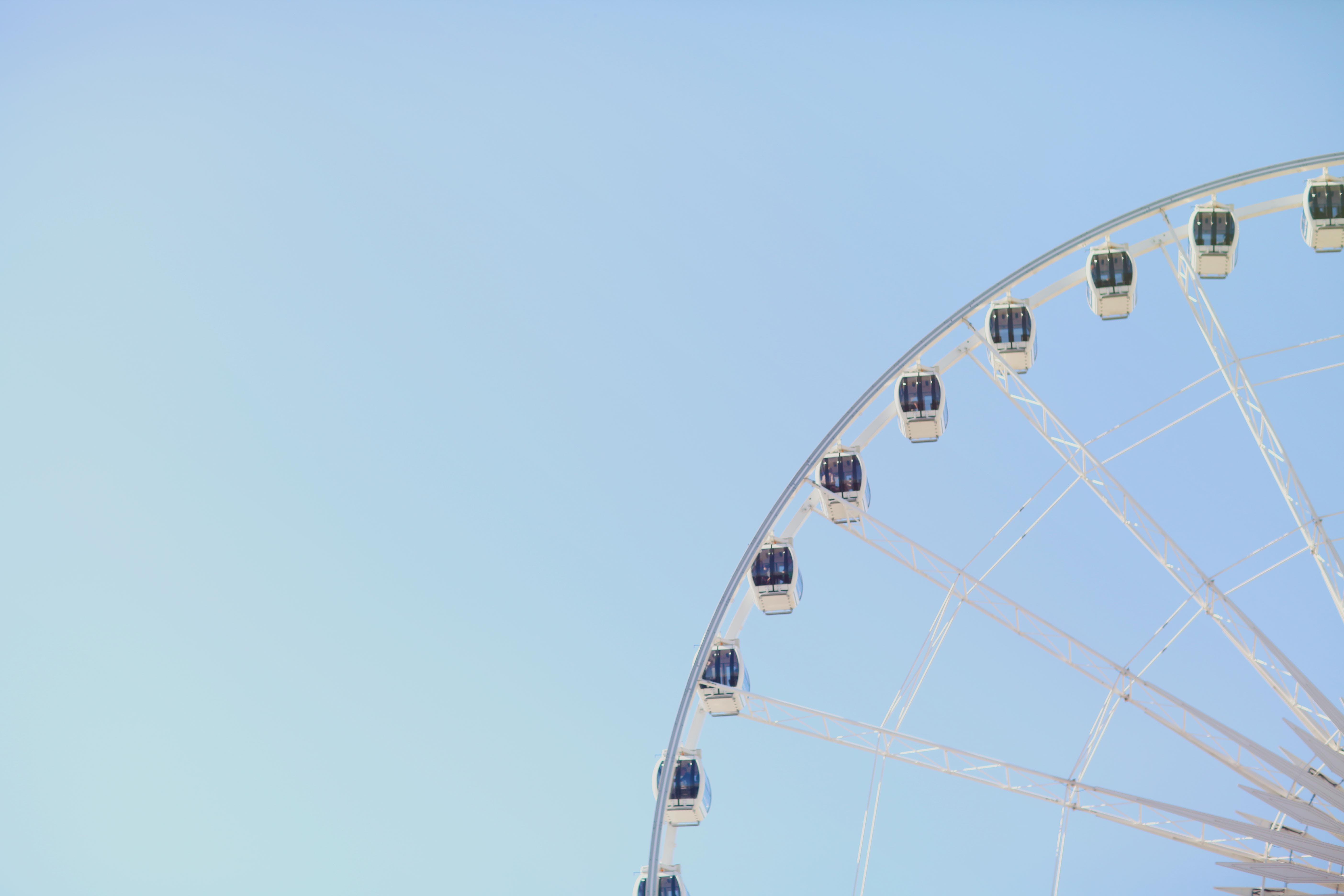 Gratis lagerfoto af forlystelser, himmel, høj, karneval