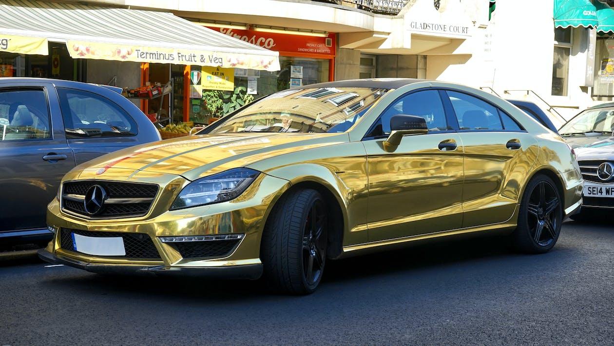asphalt, autos, elegant