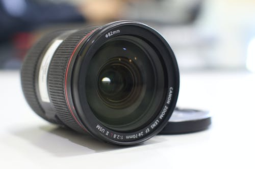 Free stock photo of camera lens, lens