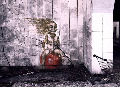 Photos gratuites de abandonné, apocalypse, art, art mural