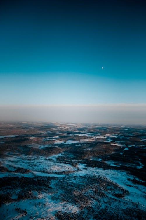 Birds Eye View of a Lake