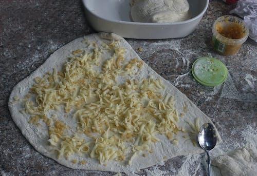 Foto d'estoc gratuïta de cuinant al forn, fent al forn, formatge, massa
