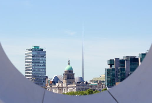 Free stock photo of city, houses, skyline, view