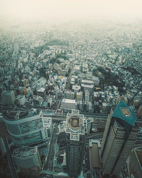 Foto profissional grátis de acima das nuvens, Adobe Photoshop, aéreo, antena