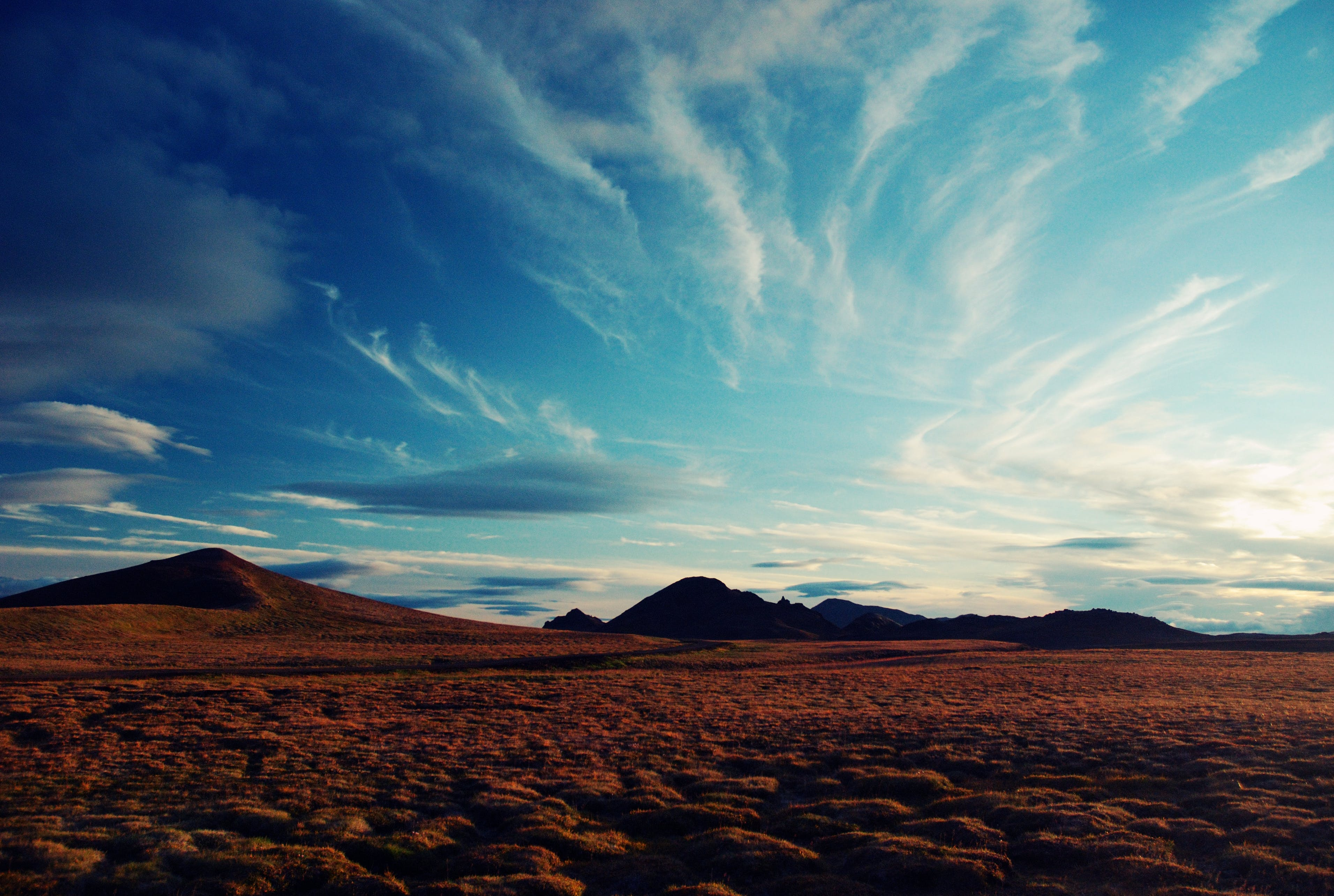 Free stock photo of blue, clouds, iceland, landscape