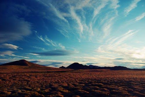 경치, 구름, 블루, 아이슬란드의 무료 스톡 사진