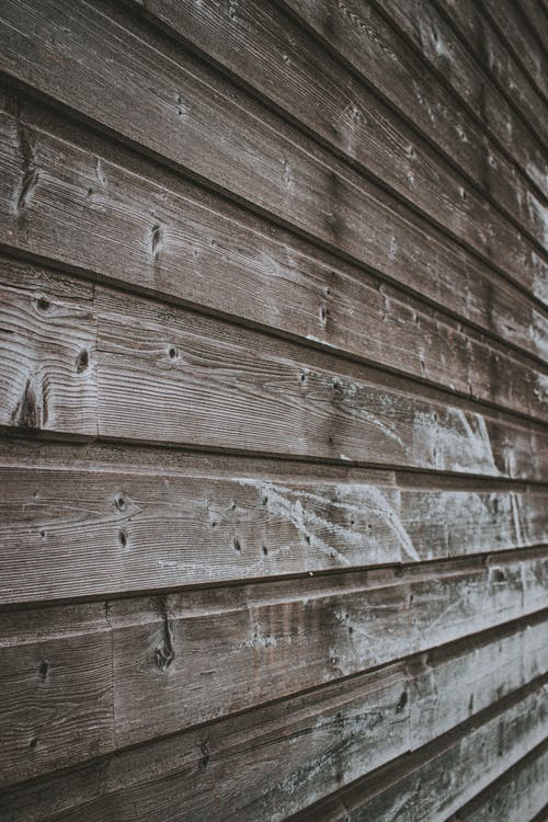 Shabby wooden wall of house
