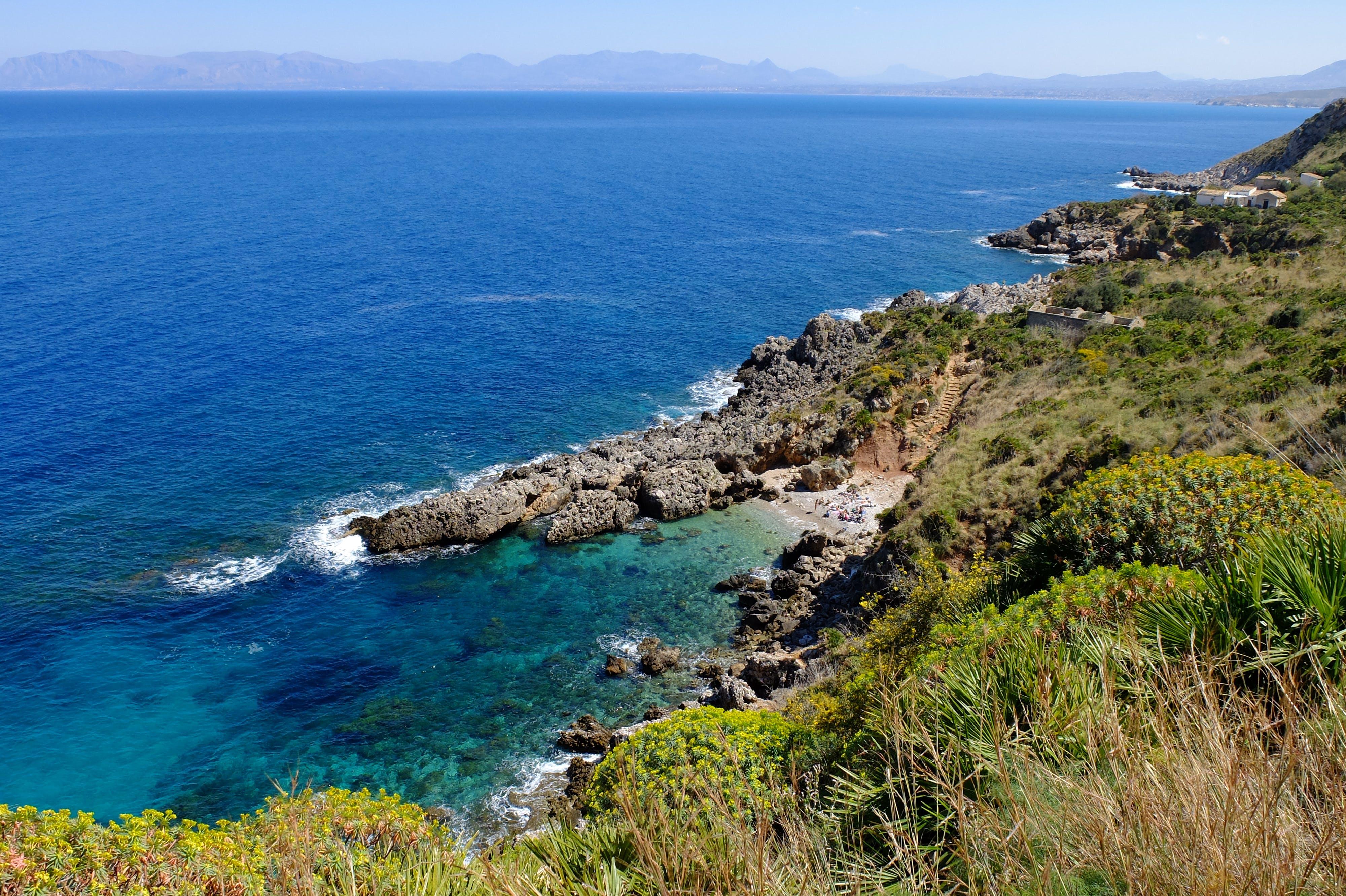 Free stock photo of beach, sea, sicily