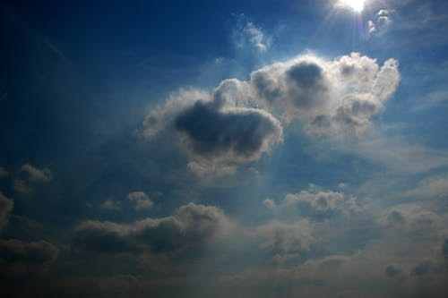 Free stock photo of blue, blue sky, clouds, cloudy day