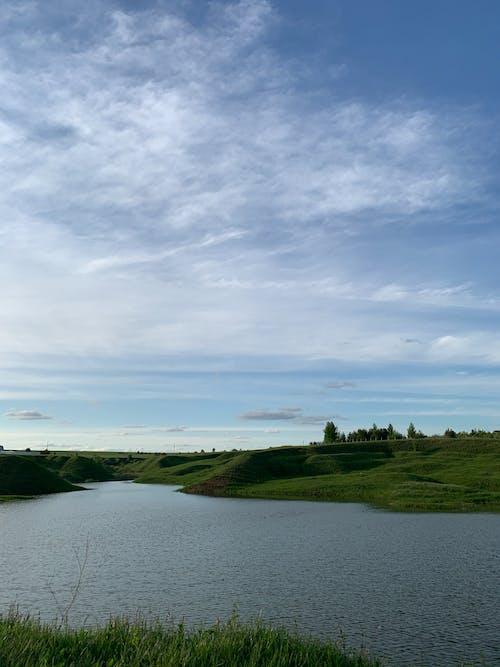 강, 개울, 골짜기, 깨끗한의 무료 스톡 사진