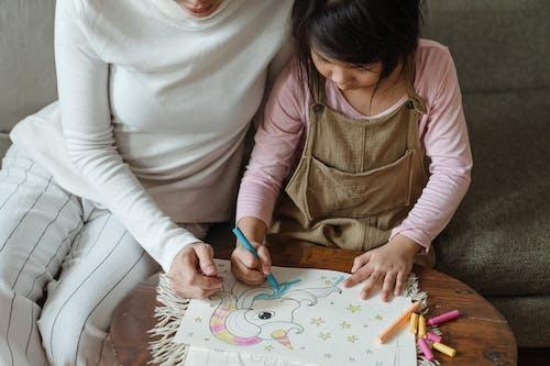 一起, 上色, 世代, 亞洲 的 免費圖庫相片