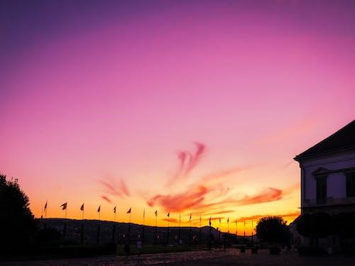 Δωρεάν στοκ φωτογραφιών με βαθμιαίος, βραδινός ουρανός, δύση του ηλίου, ηλιοβασίλεμα