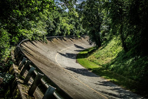 Free stock photo of curve, monza, Parabolic, racetrack