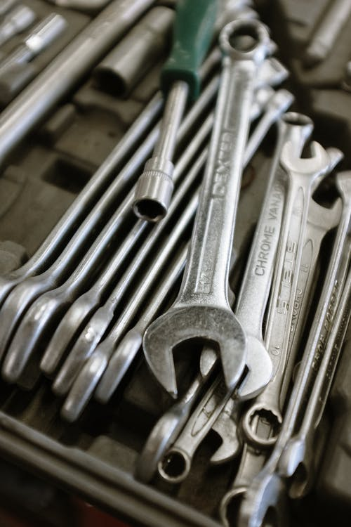Stainless Steel Combination Wrench Set