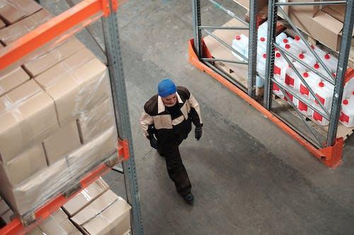 人, 保管, 倉庫 的 免費圖庫相片