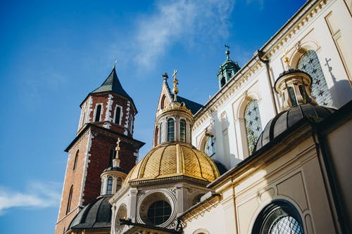 The Famous Wawel Cathedral in Poland