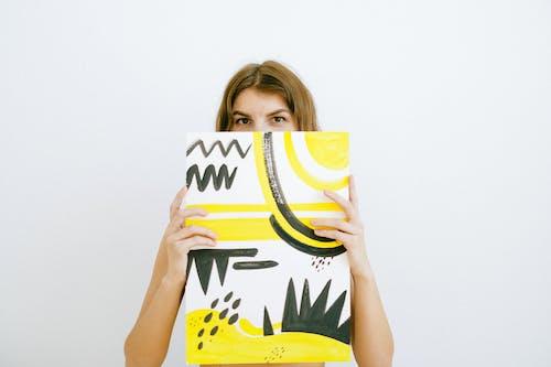 Gratis stockfoto met artiest, artwork, bruin haar, brunette
