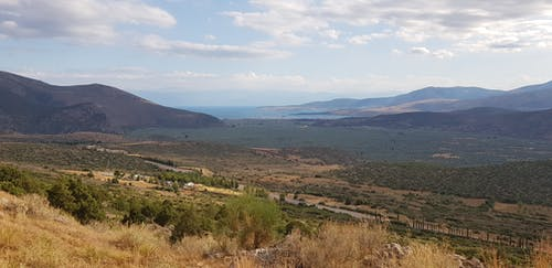 Free stock photo of blue sky, delphi, greece, mediterranean