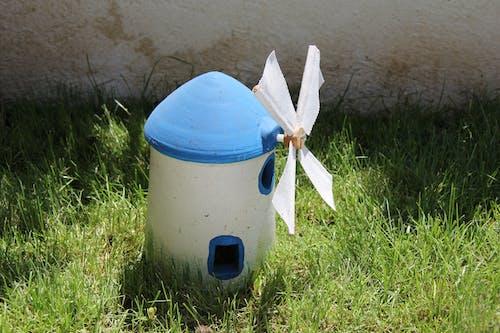 Foto profissional grátis de garening, grama, jardim da casa, moinho de vento