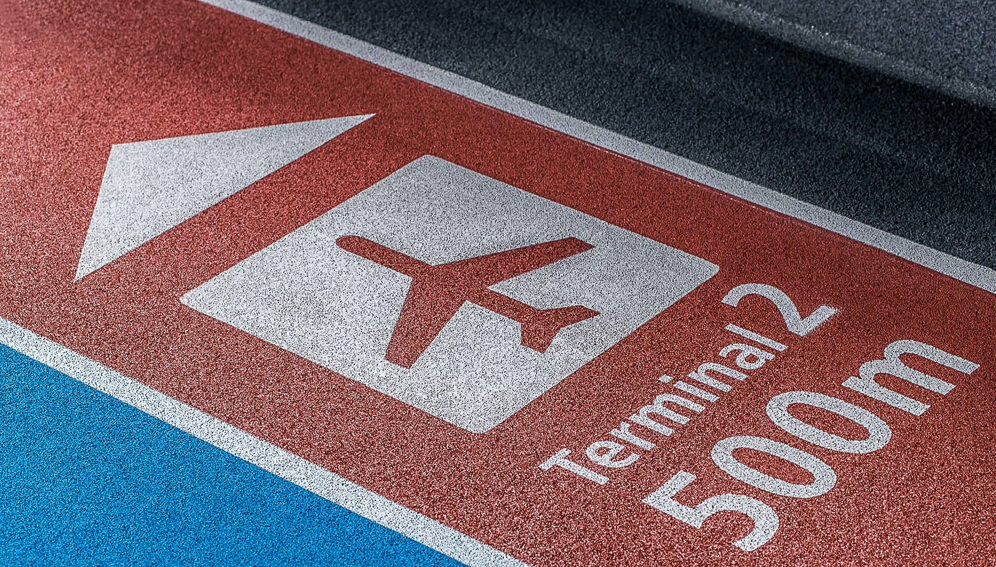 Free stock photo of airport, floor, signage