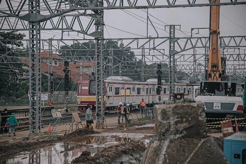 교통체계, 기계, 기중기, 기차의 무료 스톡 사진