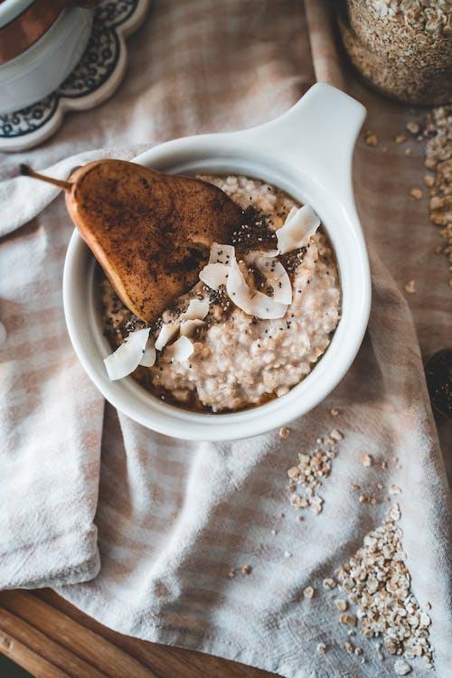 Foto profissional grátis de aveia, café da manhã, café da manhã saudável