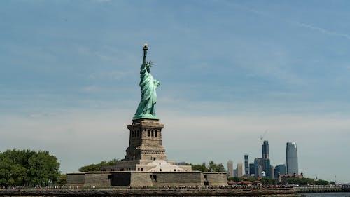 Free stock photo of new york city, new york city wallpaper, statue of liberty