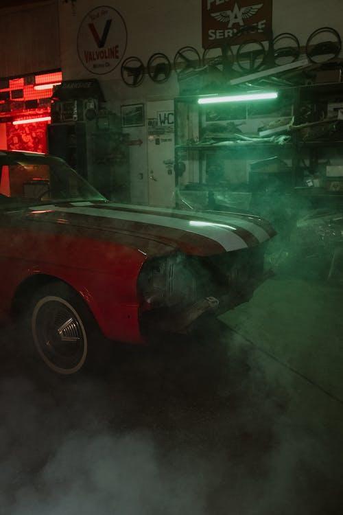 Imagine de stoc gratuită din aparat, arta neonului, atelier, atelier auto