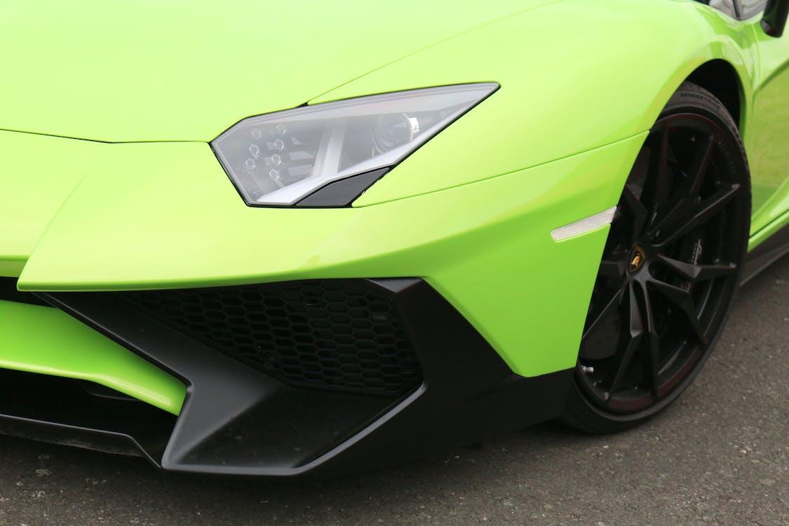 スーパーカー, 緑, 車の無料の写真素材