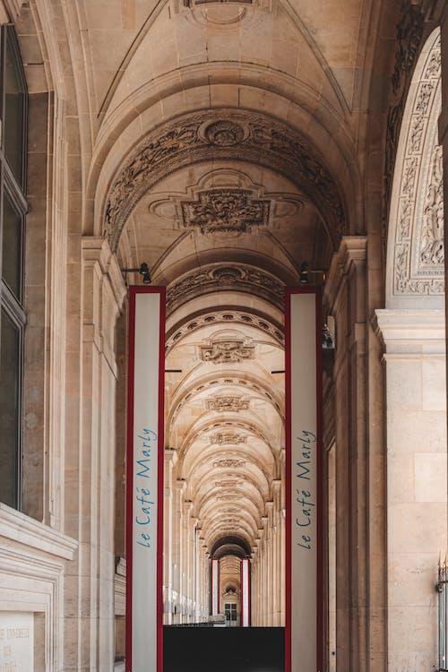 Immagine gratuita di architettura, arco, arte