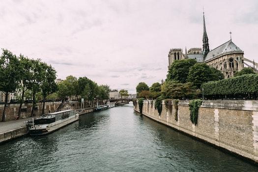 Free stock photo of landscape, paris, spring, river