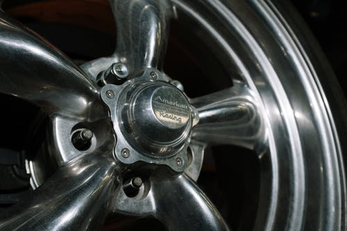 Chrome Car Wheel With Tire
