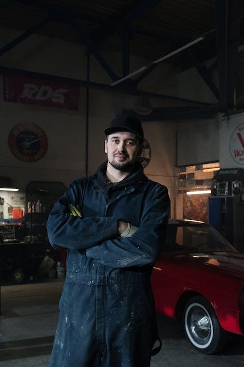 Foto d'estoc gratuïta de arreglar, automòbil, automoció, barbut