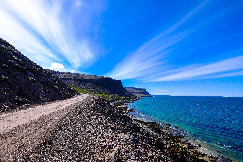 Kostenloses Stock Foto zu felsen, himmel, horizont, küste