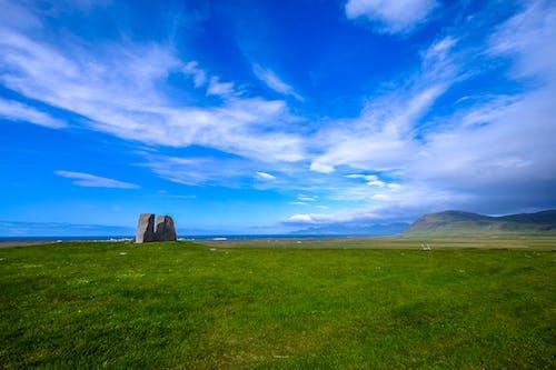 乾草地, 天性, 天空, 日光 的 免费素材照片