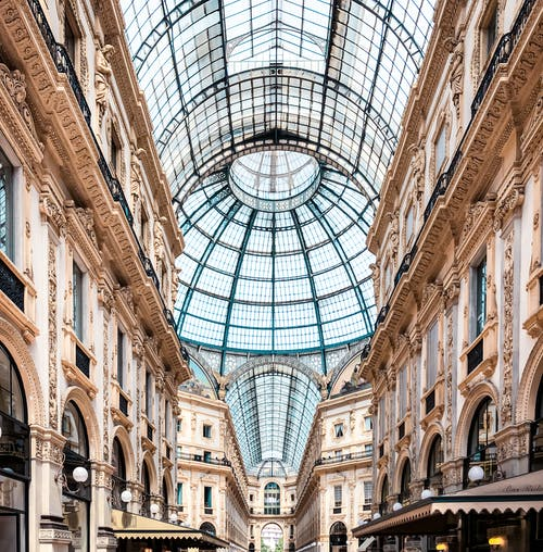 Δωρεάν στοκ φωτογραφιών με galleria vittorio emanuele ii, mall, milano, αξιοθέατο