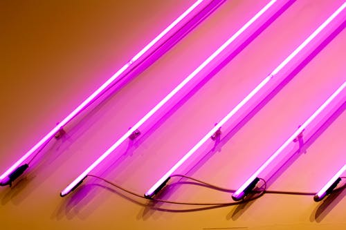 Kostenloses Stock Foto zu neon, pink, rosa