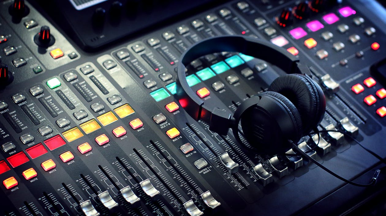 Free stock photo of audio, audio mixer, banda