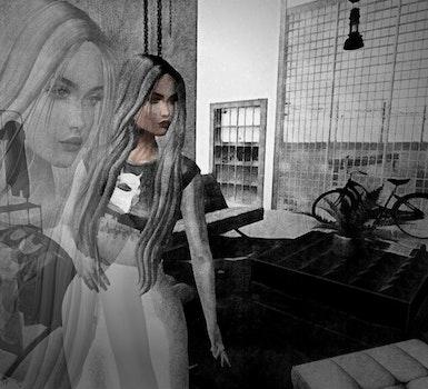 Free stock photo of digital art
