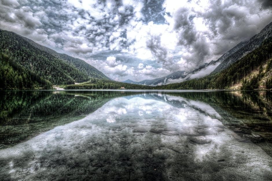 Beautiful calm clouds cloudy