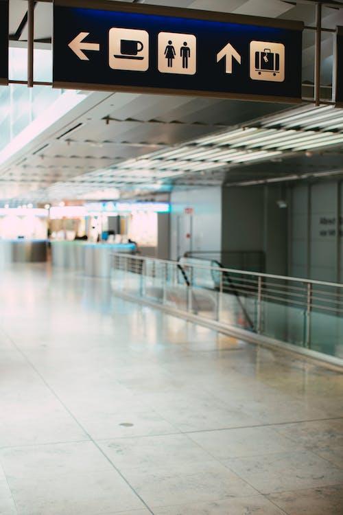 Gratis stockfoto met aankomsthal, afscheid, airport gate, architectuur
