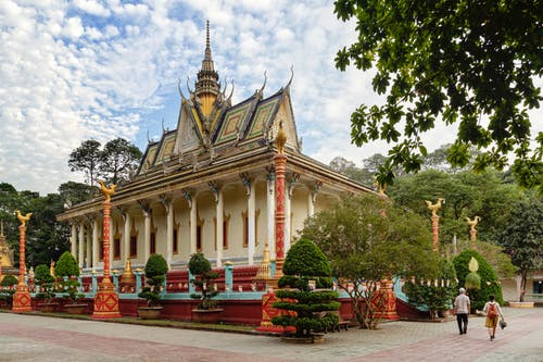 Free stock photo of architecture, landscape, old, pagoda