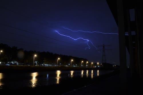 Free stock photo of bad weather, lightning, lightning strike, storm