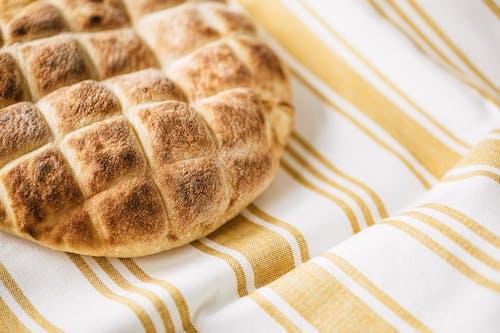 Homemade fresh baked bread on table